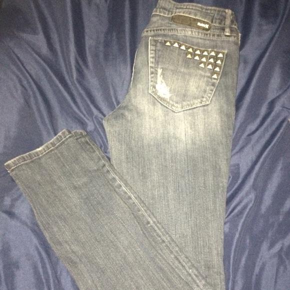 Hurley Denim - Hurley Studded Jeans sz7